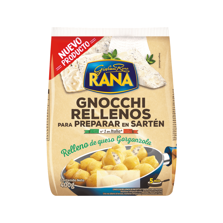 GNOCCHI RELLENOS QUESOS ITALIANOS 400 g