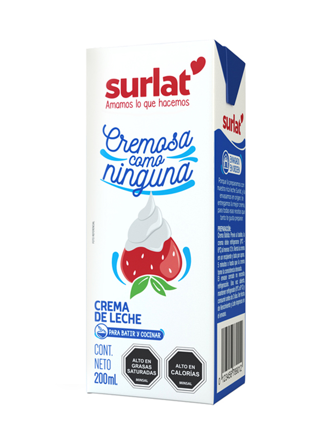 CREMA MINIBRIK SURLAT (35% MATERIA GRASA) 200 g